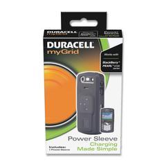 Duracell myGrid Power Sleeve - Smartphone - Black