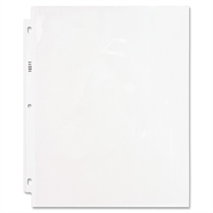 "Business Source Top-Loading Super-heavyweight Clear Sheet Protector - 5 mil Thickness - For Letter 8.50"" x 11"" Sheet - Rectangular - Clear - Polypropylene - 50 / Box"