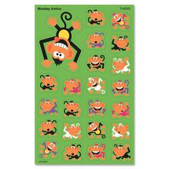 Trend superShapes Sticker - Monkey - Self-adhesive - Acid-free, Non-toxic, Photo-safe - Multicolor - 184 / Pack