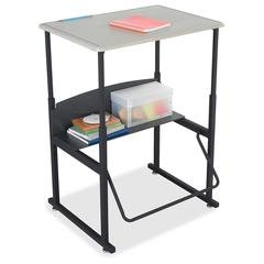 """Safco AlphaBetter Desk, 28 x 20 Standard Top, with out Book Box - Rectangle Top - 28"""" Table Top Width x 20"""" Table Top Depth x 0.63"""" Table Top Thickness - 42"""" Height - Assembly Required"""