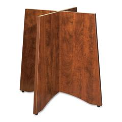 "Essentials Table Base - 24"" x 48"" x 29"" - Material: Wood - Finish: Cherry, Laminate"