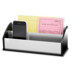 Kantek Letter/Message Sorter - Desktop - Aluminum - Acrylic, Aluminum - 1Each