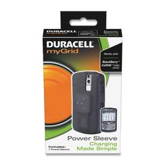 myGrid Power Sleeve - Smartphone - Black, Silver