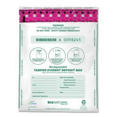 "Deposit Bags - 12"" Width x 16"" Length - White - 100/Box"