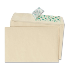 """Quality Park Greeting Card/Invitation Envelope - Announcement - 5.75"""" Width x 8.75"""" Length - Peel & Seal - 100 / Box - Ivory"""