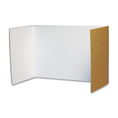 "Pacon Privacy Board - 48"" Width x 16"" Height - White"