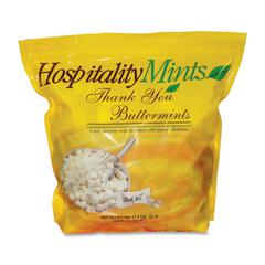 Hospitality Mint Thank You Buttermints Candy - Creamy Mint - 3.09 lb - 1 / Pack