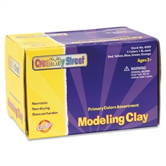 ChenilleKraft Nonhardening Modeling Clay - 1 / Pack - Assorted