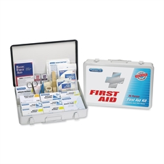 PhysiciansCare First Aid Kit - 419 x Piece(s) For 75 x Individual(s) - 1 Each