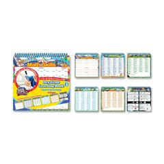 The Board Dudes Dry-Erase Learning Book Activity Printed Book