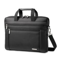 "Samsonite Classic Carrying Case for 15.6"" Notebook - Black - Ballistic Nylon - Handle, Shoulder Strap - 11.8"" Height x 15.8"" Width x 1.8"" Depth"