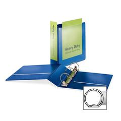 """Cardinal HeavyDuty ClearVue Round Ring Binder - 3"""" Binder Capacity - Letter - 8 1/2"""" x 11"""" Sheet Size - 625 Sheet Capacity - 2 29/32"""" Spine Width - 3 x Round Ring Fastener(s) - 2 Inside Front & Back P"""