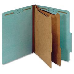 "Pendaflex 2-divider Recycled Classifictn Folders - Letter - 8 1/2"" x 11"" Sheet Size - 2 1/2"" Expansion - 2 Fastener(s) - 2"" Fastener Capacity, 1"" Fastener Capacity for Divider - 2/5 Tab Cut - Right Ta"