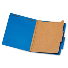"""Globe-Weis Classification Folder - Letter - 8.50"""" x 11"""" Sheet Size - 1.75"""" Expansion - 4 Fastener(s) - 2"""" Fastener Capacity for Folder - 2/5 Tab Cut - Right of Center Tab Location - 1 Divider(s) - 25"""