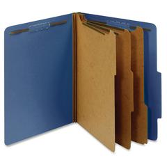 "Pendaflex 3-Divider Classification Folders - Letter - 8 1/2"" x 11"" Sheet Size - 3 1/2"" Expansion - 5 Fastener(s) - 2"" Fastener Capacity for Folder, 1"" Fastener Capacity for Divider - 2/5 Tab Cut - Rig"