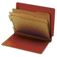 "Pendaflex End Tab 3-Div. Classification Folders - Letter - 8 1/2"" x 11"" Sheet Size - 3 1/2"" Expansion - 2 Fastener(s) - 2"" Fastener Capacity for Folder, 1"" Fastener Capacity for Divider - 3 Divider(s)"
