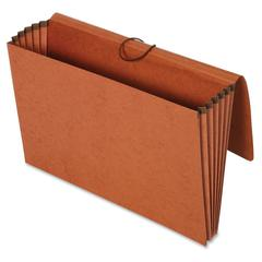 "Pendaflex Recycled 5-1/4"" Expansion Wallet - Legal - 8 1/2"" x 14"" Sheet Size - 12000 Sheet Capacity - 5 1/4"" Expansion - Redrope - Brown - Recycled - 10 / Box"