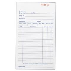 "Business Source All-Purpose Triplicate Form - 50 Sheet(s) - 3 Part - Carbonless Copy - 7"" x 4.13"" Sheet Size - 1 Each"