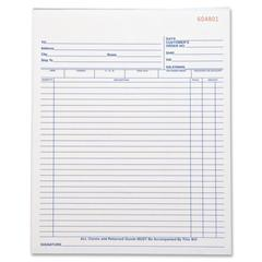 "Business Source All-Purpose Triplicate Form - 50 Sheet(s) - 3 Part - Carbonless Copy - 10.25"" x 8.38"" Sheet Size - 1 Each"