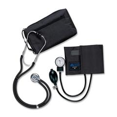 Medline Sprague Rappaport Stetho/Sphyg Combo - For Blood Pressure - Latex-free - Black