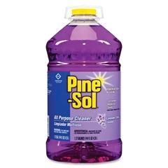 Pine-Sol All Purpose Cleaner - Liquid Solution - 1.13 gal (144 fl oz) - Lavender Scent - 3 / Carton - Purple
