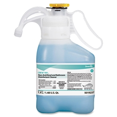 Non-acid Bowl/Bathroom Cleaner - Concentrate Liquid Solution - 0.37 gal (47.34 fl oz) - Floral Scent - 1 Each - Blue