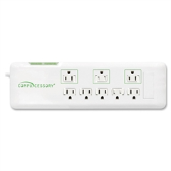 2160 Joules 8-Outlet Surge Protector - 8 Receptacle(s) - 2160 J