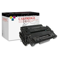 West Point Products Remanufactured Toner Cartridge Alternative For HP 55X (CE255X) - Black - Laser - 12500 Page - 1 Each