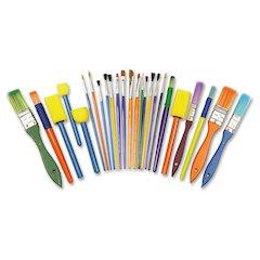 ChenilleKraft Assorted Brush Starter Set - 25 Brush(es)