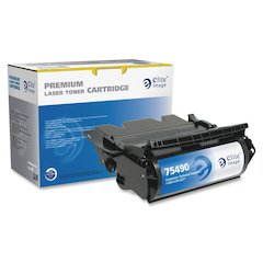 Elite Image Remanufactured High Yield MICR Toner Cartridge Alternative For Lexmark T640 (64015HA) - Laser - 21000 Page - 1 Each
