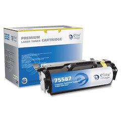 Elite Image Remanufactured High Yield MICR Toner Cartridge Alternative For Lexmark T65x (T650H21A) - Laser - 21000 Page - 1 Each
