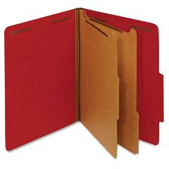 "Pendaflex 2-Divider Pressbrd Classifictn Folders - Letter - 8 1/2"" x 11"" Sheet Size - 1 3/4"" Expansion - 6 Fastener(s) - 2"" Fastener Capacity for Folder, 1"" Fastener Capacity for Divider - 2/5 Tab Cut"