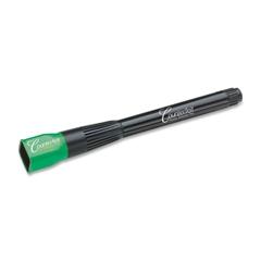 MMF DRI MARK Counterfeit Detector Pen with UV Light Cap - Ultraviolet, Magnetic Ink - Black