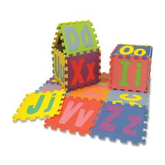 ChenilleKraft WonderFoam Alphabet Puzzle Mat - Theme/Subject: Learning - Skill Learning: Uppercase Letters, Lowercase Letters, Alphabet, Shape - 26 Pieces
