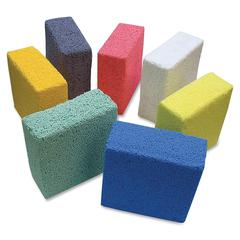 ChenilleKraft Squishy Foam Block - 7 Piece(s) - 1 / Pack - Assorted - Foam