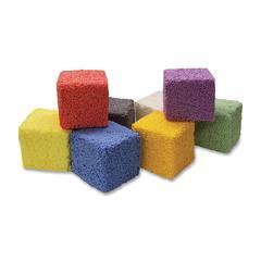 ChenilleKraft Squishy Foam Block - 8 Piece(s) - 1 / Pack - Assorted - Foam