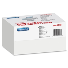 PhysiciansCare Weatherproof First Aid Refill Kit - 169 x Piece(s) For 50 x Individual(s) - 1 Each