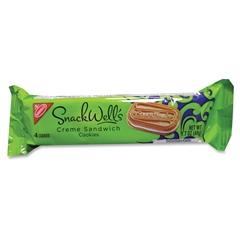 Snackwells Nabisco SnackWell's Vanilla Creme Sandwich Cookies - Vanilla - 1.70 oz - 60 / Carton