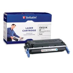Remanufactured Laser Toner Cartridge alternative for HP C9721A Cyan - Cyan - Laser - 8000 Page - 1 / Each