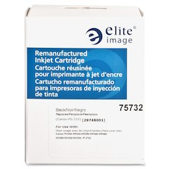 Elite Image Remanufactured Ink Cartridge Alternative For Canon PG-211 - Inkjet - 220 Page - 1 Each