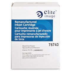 Elite Image Remanufactured Ink Cartridge - Alternative for Canon (PG30) - Inkjet - Black - 1 Each