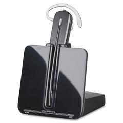 Plantronics CS540 DECT w/ Lifter Headset System - Mono - Black - Wireless - DECT - 350 ft68 kHz - Over-the-ear - Monaural - Open - Noise Cancelling, Noise Reduction Microphone