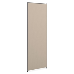 """Basyx by HON Verse Panel System & Accessories - 24"""" Width x 72"""" Height - Gray"""