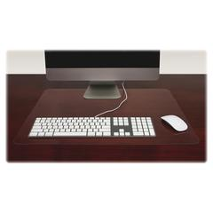 "Lorell Desk Pad - Rectangle - 24"" Width x 19"" Depth - Polyvinyl Chloride (PVC) - Clear"