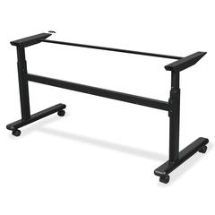 "Balt Height-Adjustable Flipper Training Table Base - 32.75"" Height x 60"" Width x 24"" Depth - Assembly Required"