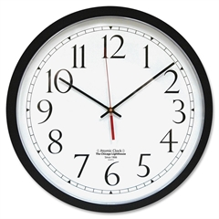 Chicago Lighthouse Contemporary Atomic Wall Clock - Analog - Quartz - Atomic