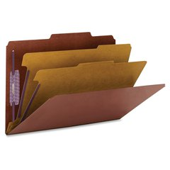 "PressGuard® Classification Folders with SafeSHIELD® Coated Fastener Technology - Legal - 14 3/4"" x 10"" Sheet Size - 2"" Expansion - 6 Fastener(s) - 2"" Fastener Capacity for Folder - 2/5 T"