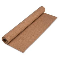 """Natural Cork Rolls - 48"""" Height x 24"""" Width - Brown Cork Surface - 1 Each"""