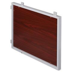 "Concordia Series Laminate Desk Ensemble - 39"" Width x 2"" Depth x 28.5"" Height - Metal - Silver Metal"