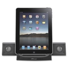 Compucessory 2.0 Speaker System - 4 W RMS - Black - USB